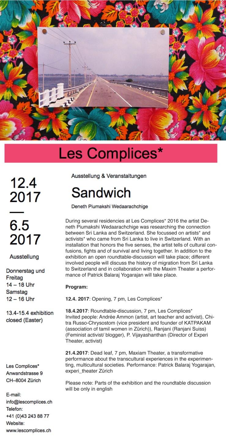 sandwichenglisch